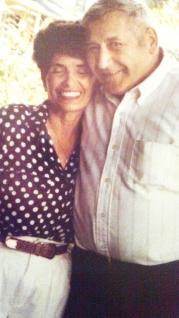 Joe's parents, Rosemary and Robert
