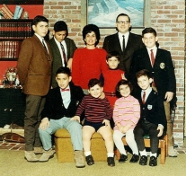 The Baldacci family in 1970. Joe Baldacci is in the front wearing shorts