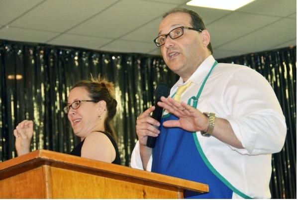 Bangor City Councilor Joe Baldacci speaking about raising the minimum wage